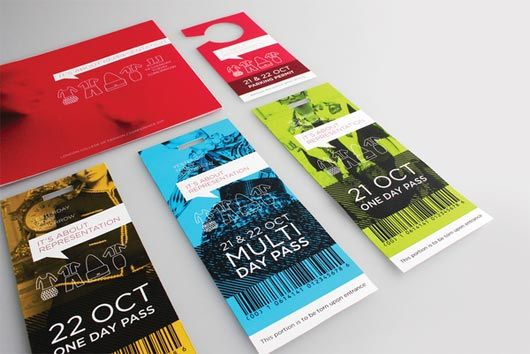 attractive ticket designs designinspiration pinterest