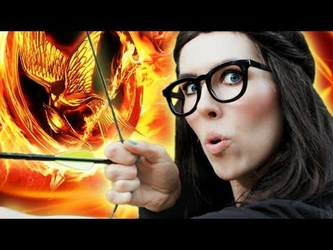 """VIDEO: Absolutely Hilarious Hunger Games Music Parody of """"Part of Me"""" by Katy Perry. she even kinda looks like Katy lol"""