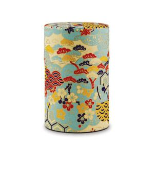 Japanese Washi Tea Tin (Mint) - $10 -- They had these tea tins all over in Japan, I kept looking to pick my favorite paper pattern then wasn't able to get one in the end, would love to use it here at home for my tea here! Love this mint with red and yellow pattern!