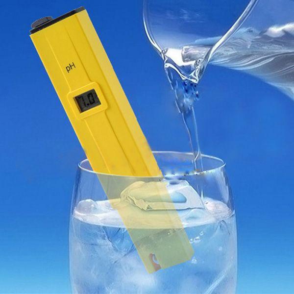 Digital PH Tester Meter Pocket Pen Aquarium Pool Water Digital Tester