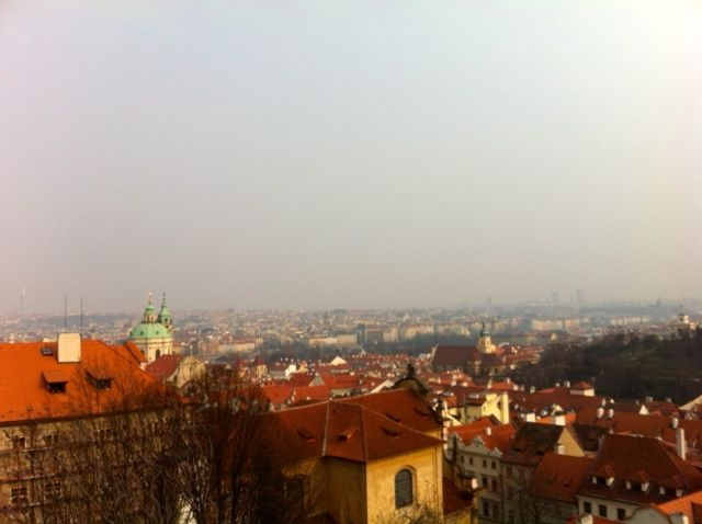 View from Hradčany
