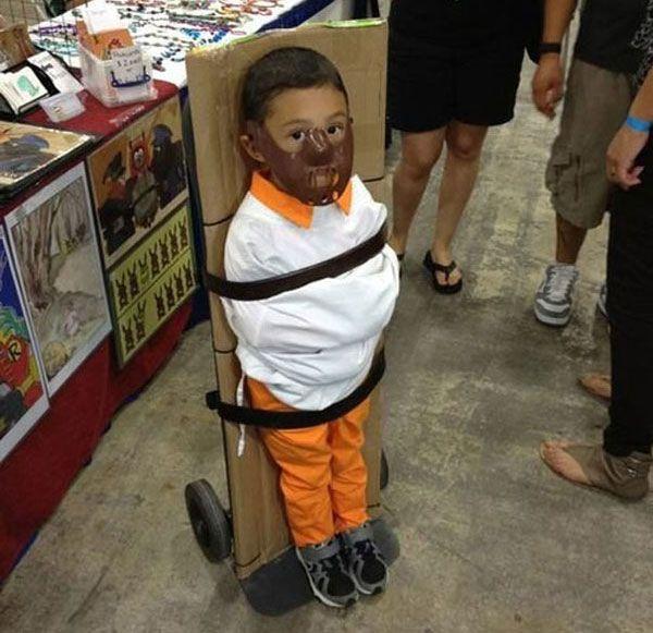 Vestito di Halloween per bambini da Hannibal Lecter