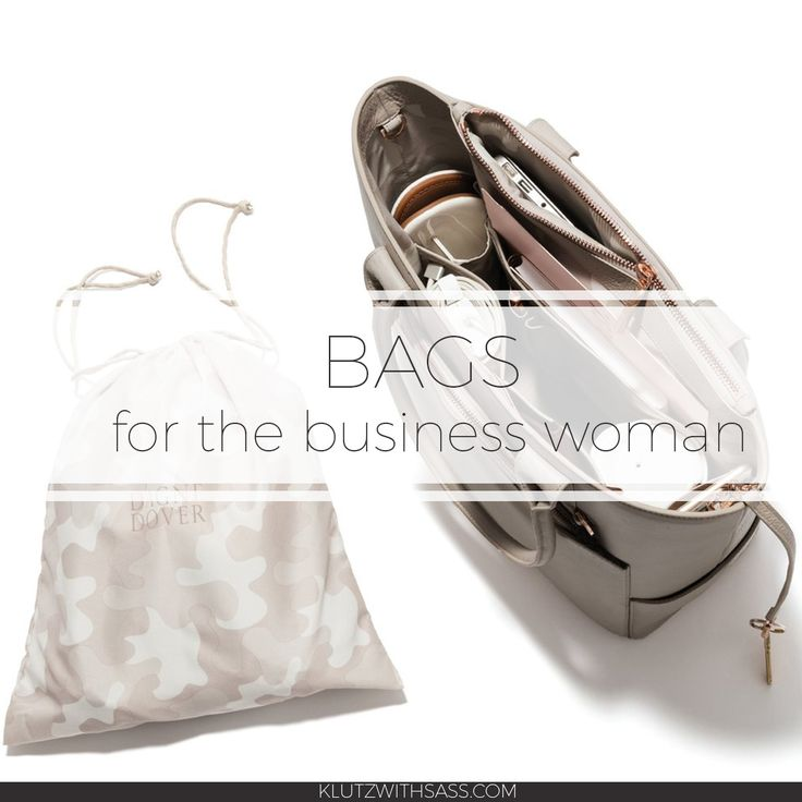 klutzwithsass.com | Bags for the business woman