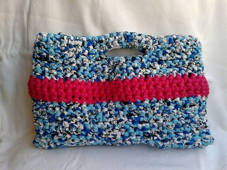 Handmade crochet bags.Dimensions 33cm x 22cm