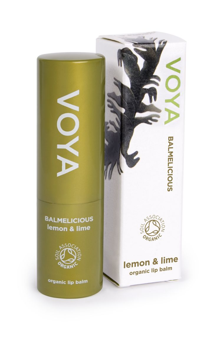 VOYA's certified organic lip balm is wonderfully luxurious and is a friend to the environment, it is a magical blend of sweet almond and coconut oil. It is rich in natural anti-oxidants due the soothing seaweed extract oil it contains.