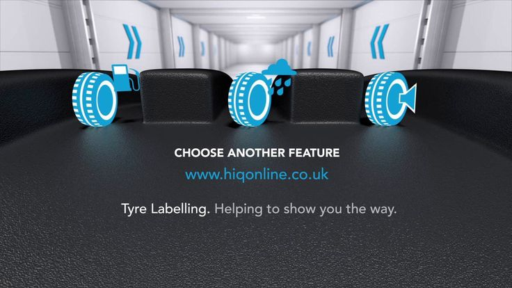 A fun take on the new tyre labelling legislation, using 3d and motion graphics