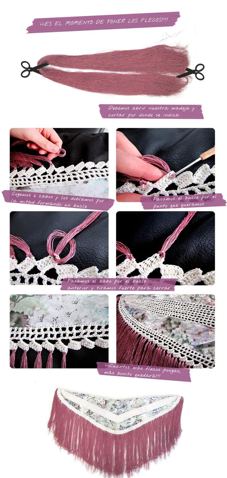 como hacer mantoncillo flamenca 4 ¿Como hacer un mantoncillo de flamenca? #DIY