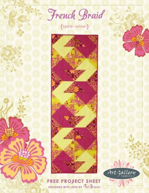Braid Quilt Pattern Table Runner : 1000+ images about TABLE RUNNER on Pinterest Runners, Quilted table runner patterns and Place mats