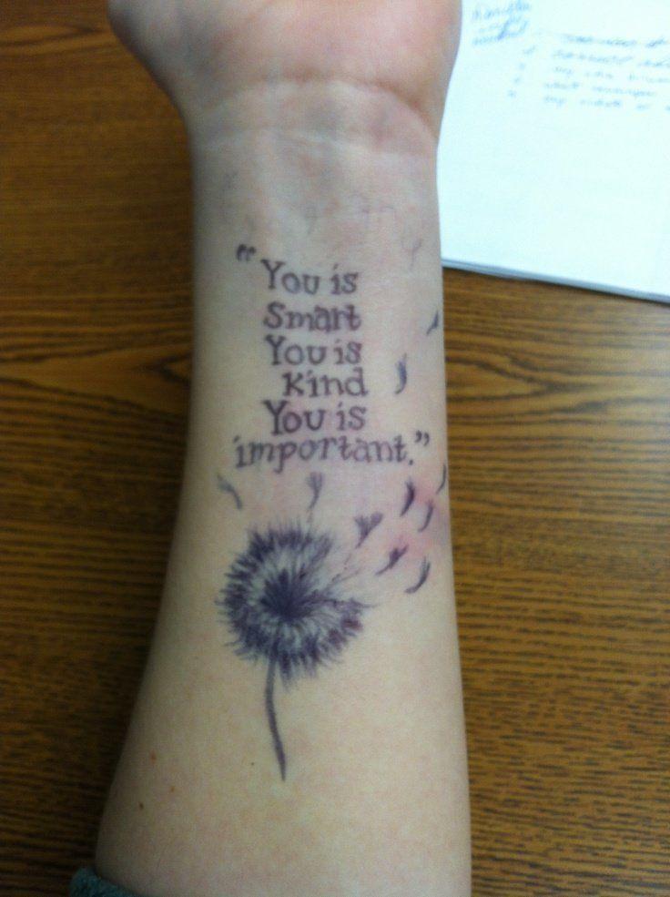 Quote tattoos on wrist