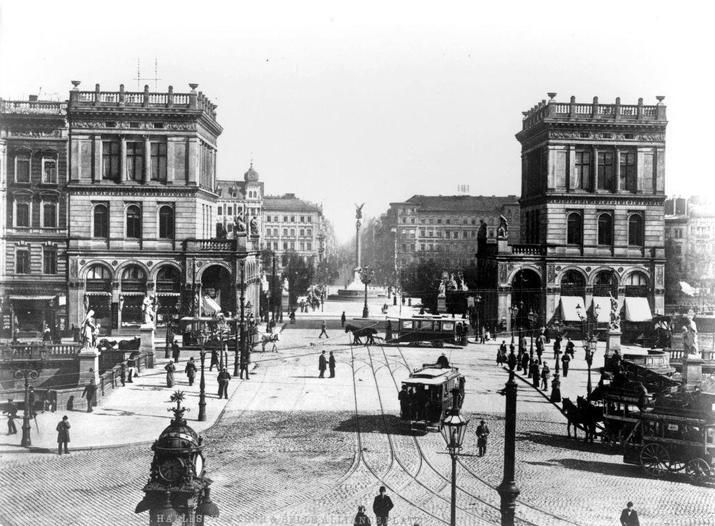 Berlin 1902 Belle-Aliance-Platz