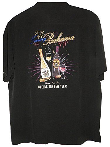 Tommy Bahama Embroidered Uncork the New Year Silk Camp ...