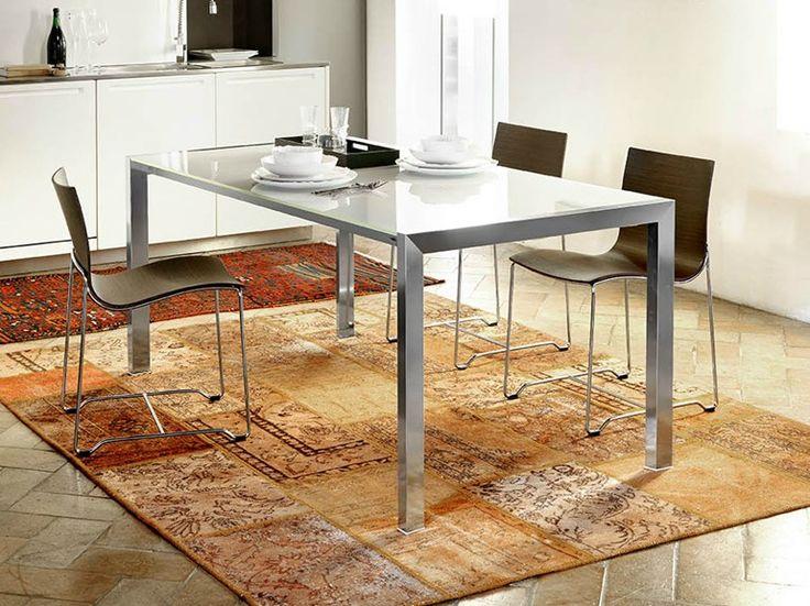 Mesa extensível de jantar retangular RIALTO by Midj   design R