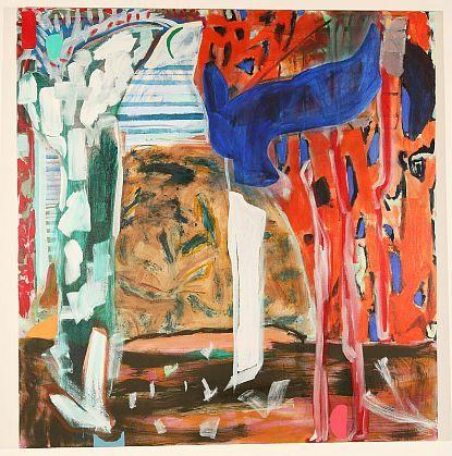 Rachael Dewhirst-'Tangerine dream'-Bath Street Gallery