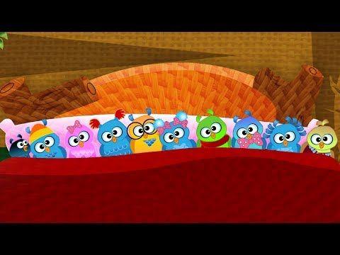 Ten in the bed-Nursery Rhyme with Lyrics - YouTube