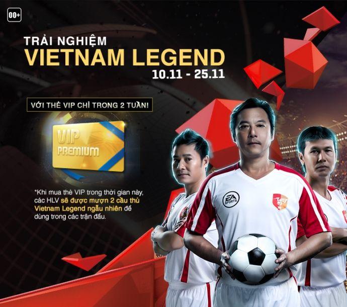 FIFA Online 3: Cảm nhận sau một ngày thả ga với Vietnam Legend