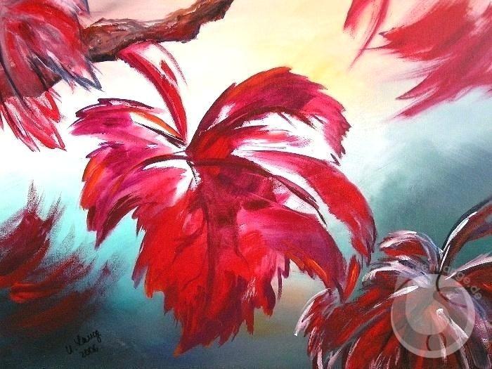 Ungewc3b6hnlich Blumen Acrylbilder Youtube Selber Malen