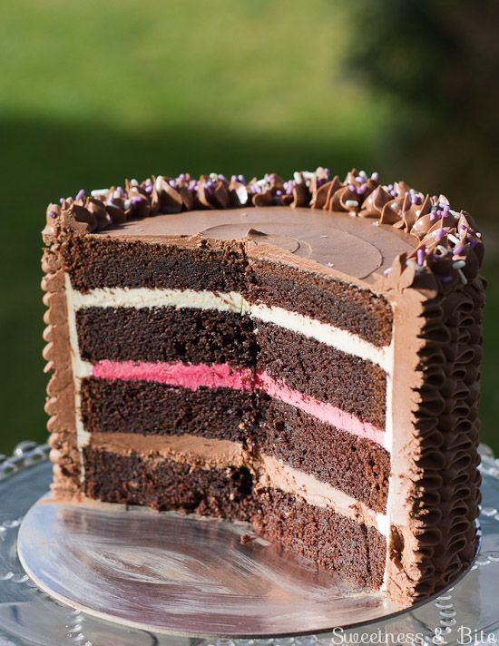 Devil's Food Cake {Gluten Free, or Not} - Sweetness & Bite-needs some gum added