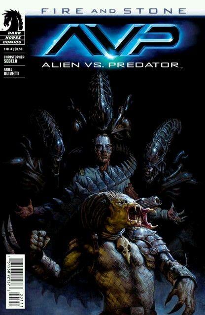 Alien vs Predator AVP darkhorse