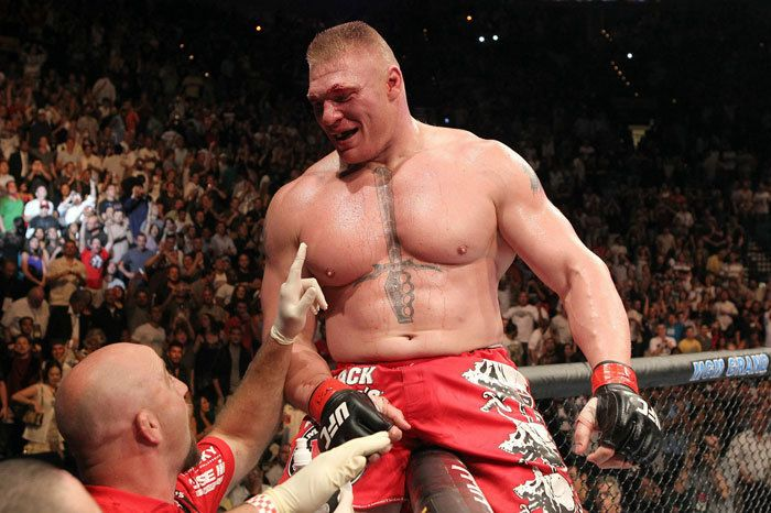 Brock Lesnar MMA/WWE Official Profile of Former MMA Fighter and WWE superstar Brock Lesnar The new Game! shal.review