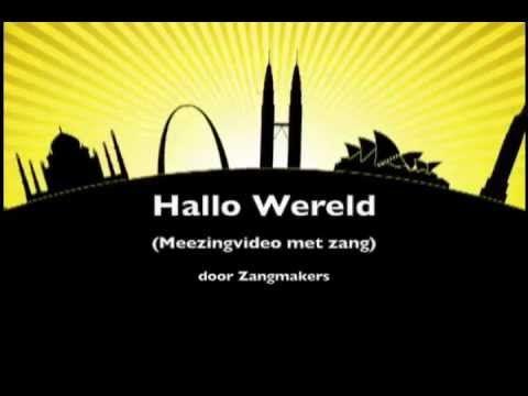 HALLO WERELD (Zangmakers ft. Raverty) Kinderboekenweek 2012