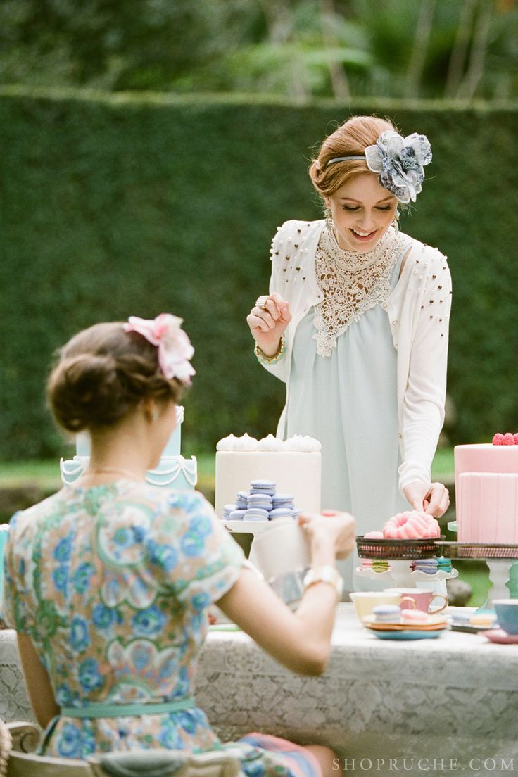 A Ruche tea party with friends. #shopruche #ruche