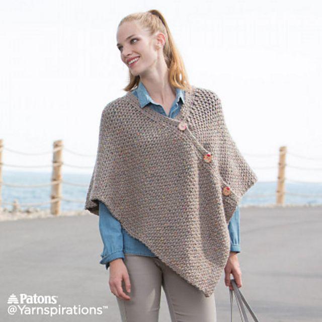Ravelry Crochet Poncho By Katherine Poole Fournier Crochet Poncho Patterns Poncho Pattern Crochet Poncho