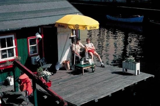 Houseboat, Christianshavn Cph.Houseboats
