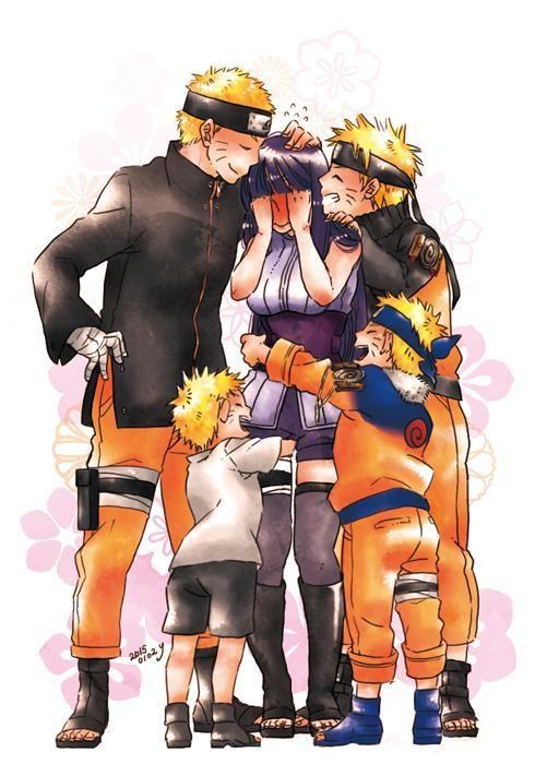Naruto and Hinata #naruto #hinata #naruhina