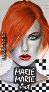 Marie Marie Artist. Bogamia Magazine