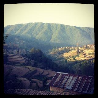 Stunning hills of rural Nepal #gapyear #volunteer #antipodeansabroad