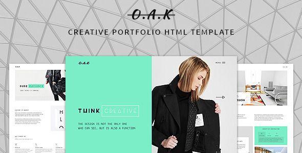 OAK - Creative Multi-Purpose HTML Template - Portfolio Creative