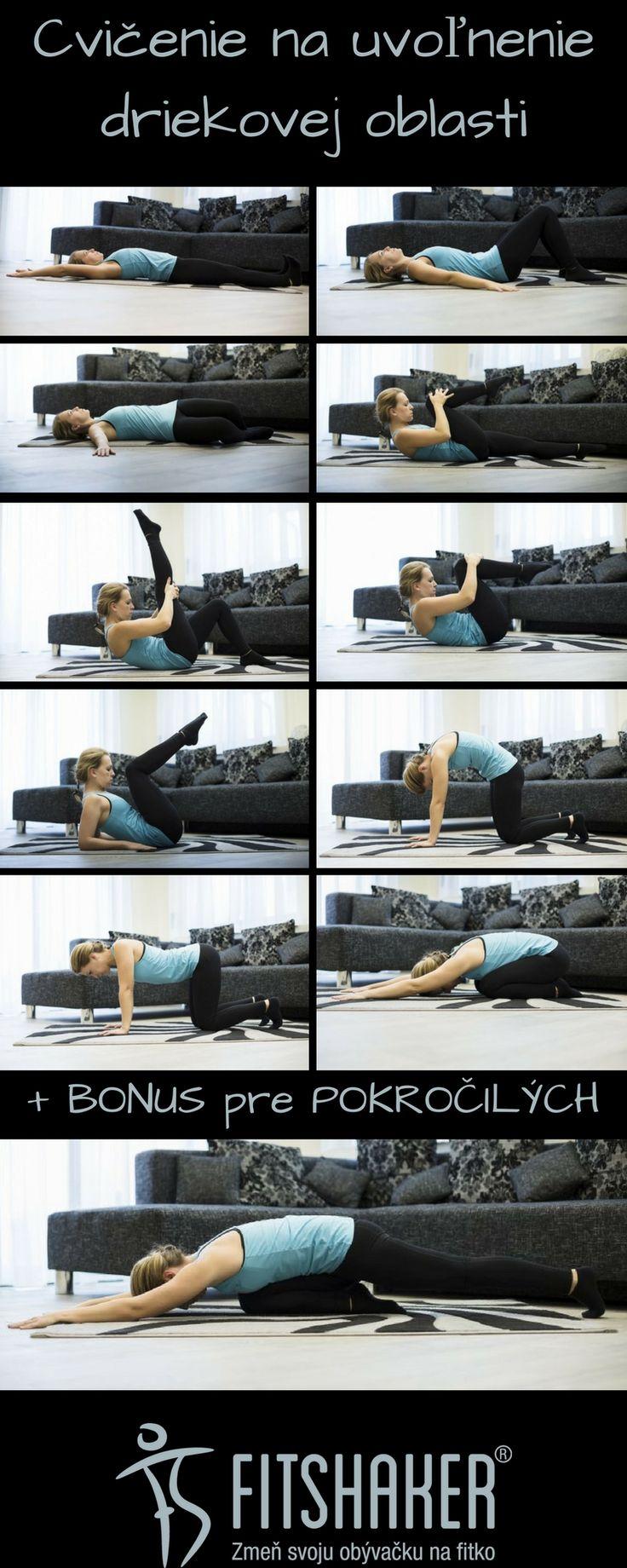 10 cvikov na uvoľnenie bolesti chrbta v driekovej oblasti
