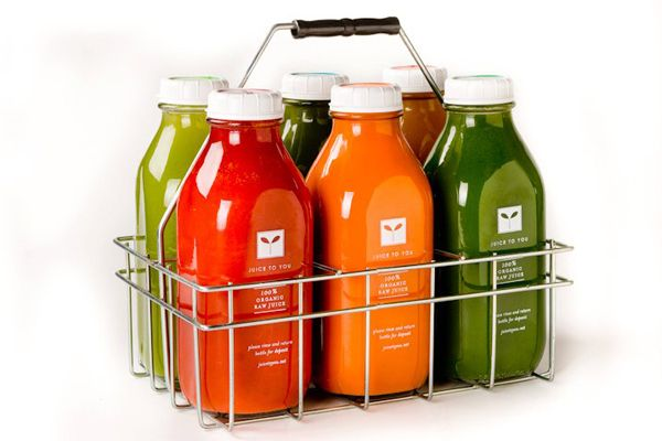Prettiest juice cleanse bottles of them all! Juice to You 3-Day Cleanse.