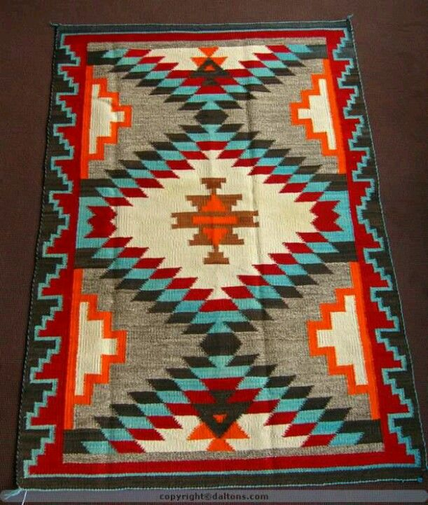 Tribal with colorful contrast