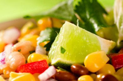 Raw Corn Salad with Zesty Lime Dressing: Amazing, Limes Dresses, Crowd Plea Recipes, Zesty Limes, Summer Corn Salad, Corn Salad Thi, Corn Salads, Zesty Corn, Awesome Corn