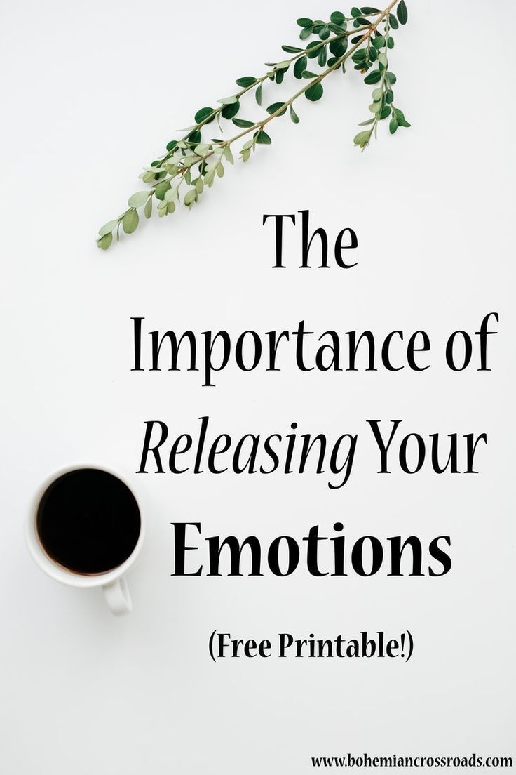 what is emotional release