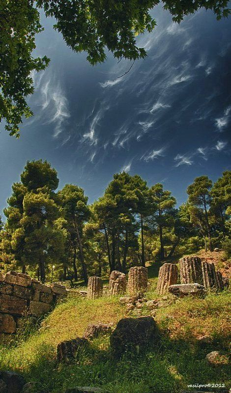 The Amphiareion of Oropos, Attica, Greece (by vasilpro)