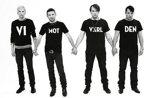 "Swedish rock band KENT ""We against the world"""