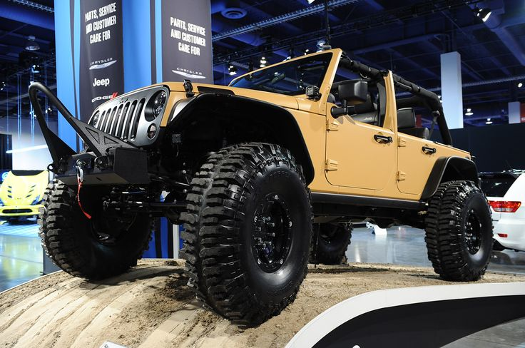 jeep wrangler | jeep wrangler sand trooper sema 2012 photos