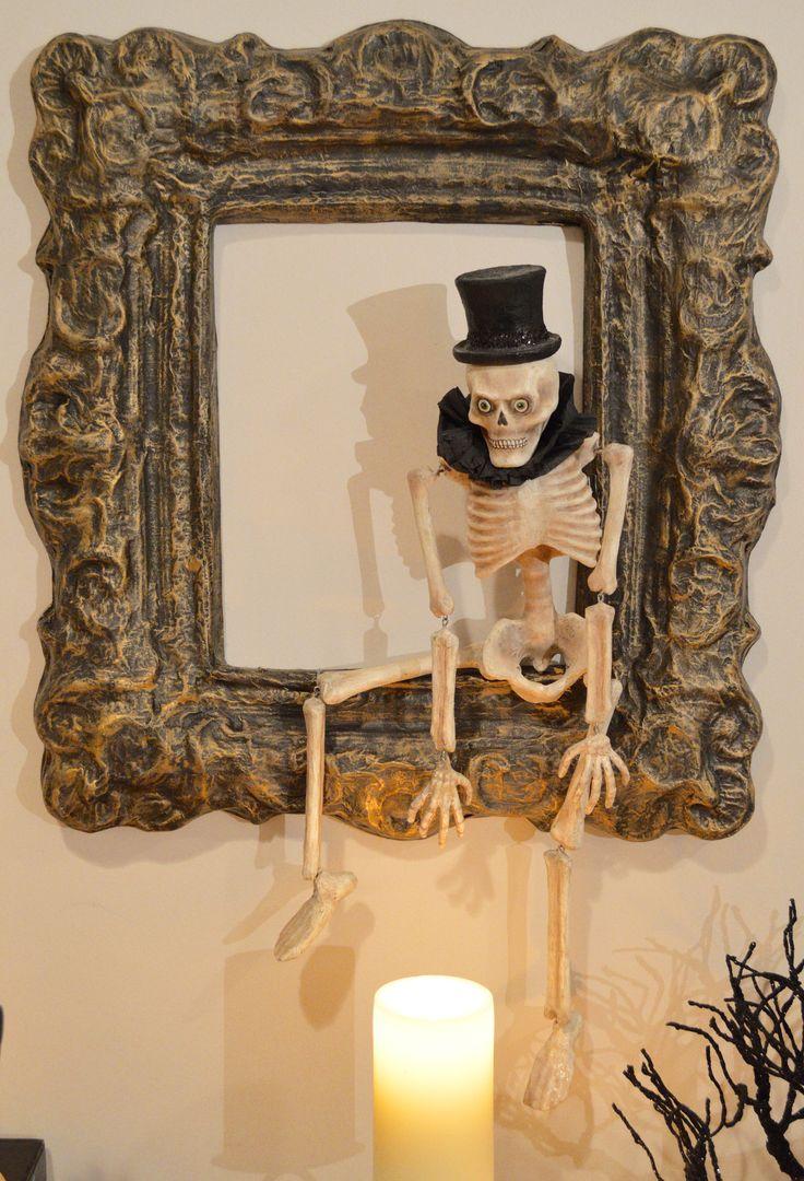 I've Been Framed Skeleton - Bethany Lowe