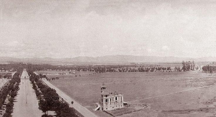 Fotografía tomada desde la Columna de la Independencia, Año 1910