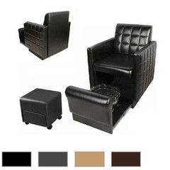Collins Manufacturing Club Pedicure Nouveau Spa Chair for sale by Keller International. Footsie Pedicure Spa, no plumbing or assembly. Shop nail equipment!