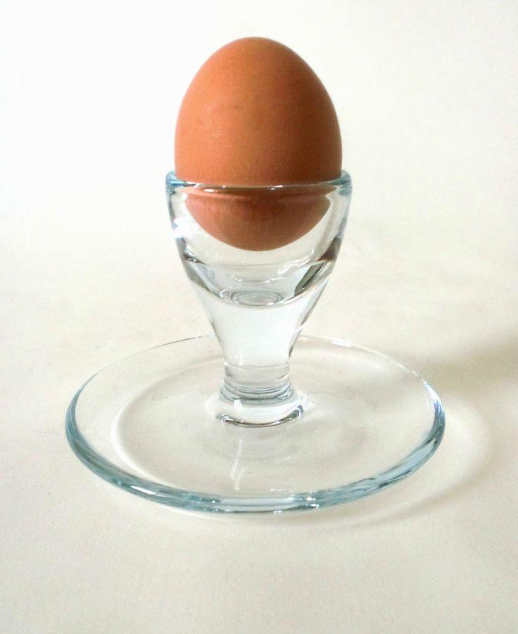 70s Holmegaard glass egg cup
