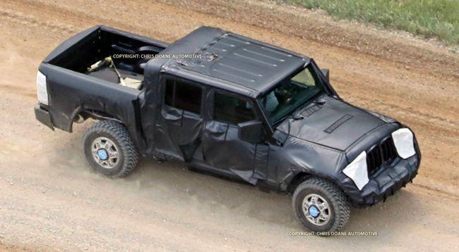 2019 Jeep Wrangler Pickup Rumors