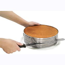 Layer Cake Slicing Kit, Stainless Steel