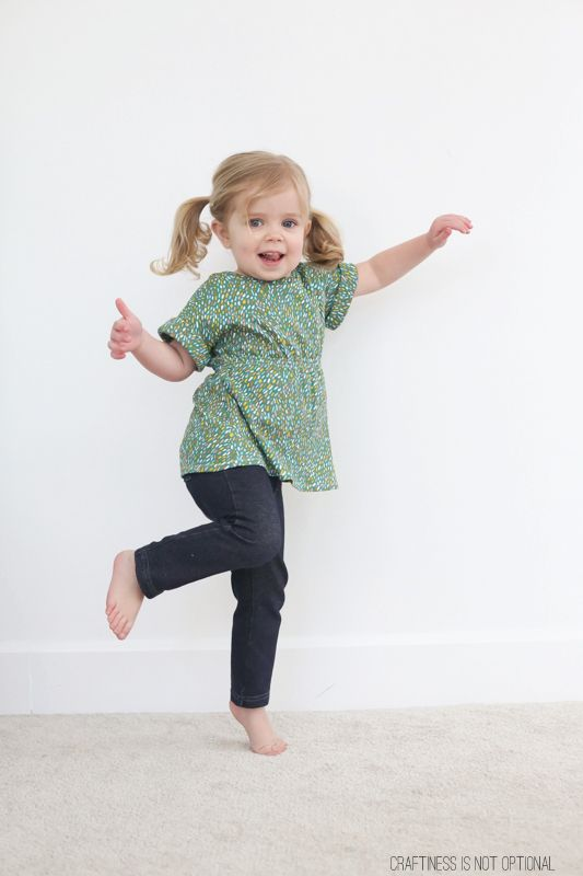 Free Pattern // The Scrunch Top // by Craftiness Is Not Optional