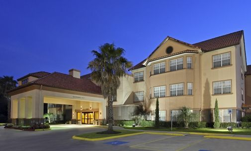 Homewood Suites by Hilton Houston-Woodlands Hotel, TX - Exterior at Night