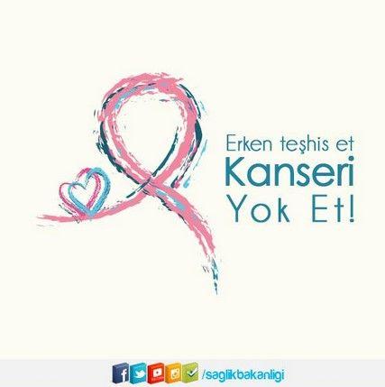 Meme, Rahim ve Serviks (rahim ağzı) Kanseri erken teşhis edildiğinde tedavi edilebilen hastalıklardır. @saglikbakanligi