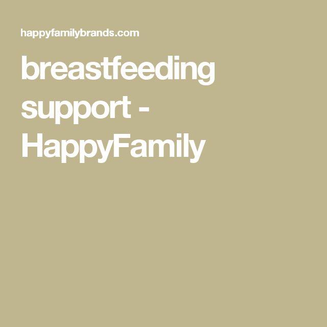 breastfeeding support - HappyFamily