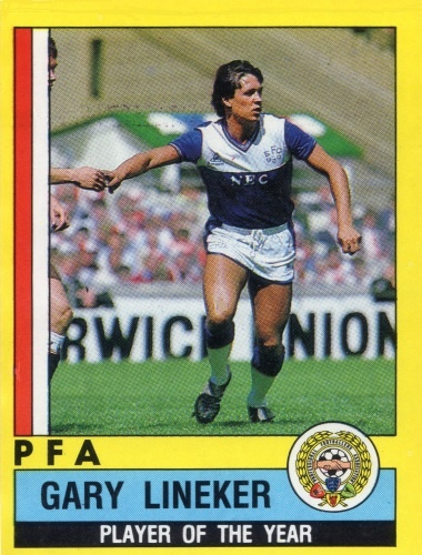002 - Gary Lineker (Everton)